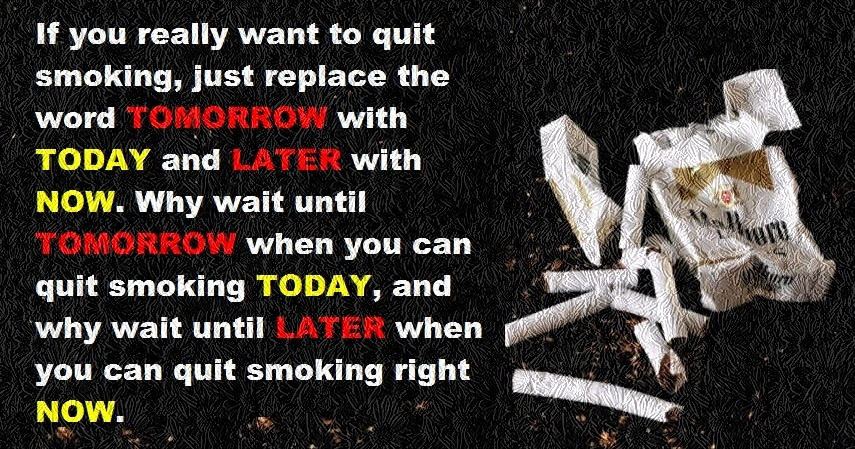 motivational quotes to help quit smoking
