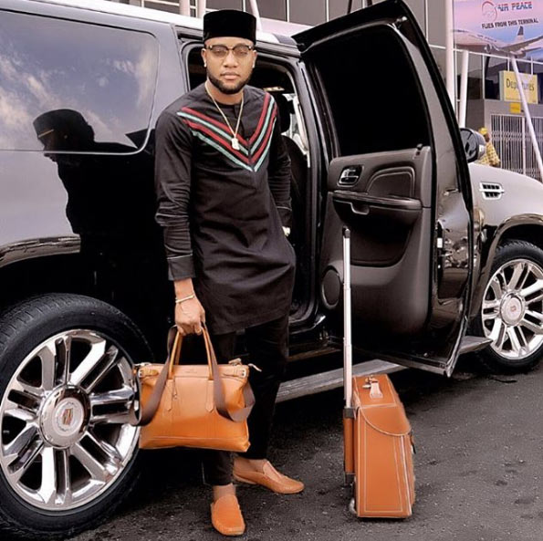 Don't let fear pull you back - Kcee says as he steps out in style