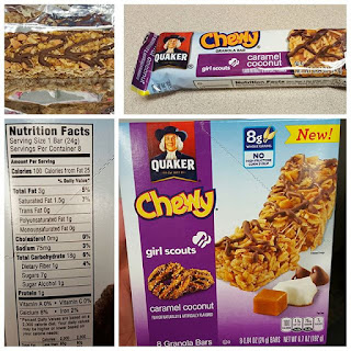 Shannon39s Lightening the Load Quaker Chewy Girl Scouts