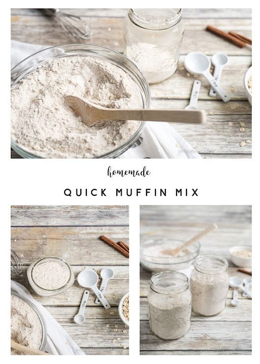 Homemade Quick Muffin Mix Plus Basic Muffin Recipe