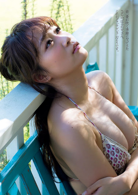 はるかぜ Harukaze Weekly Playboy March 2017 Pictures