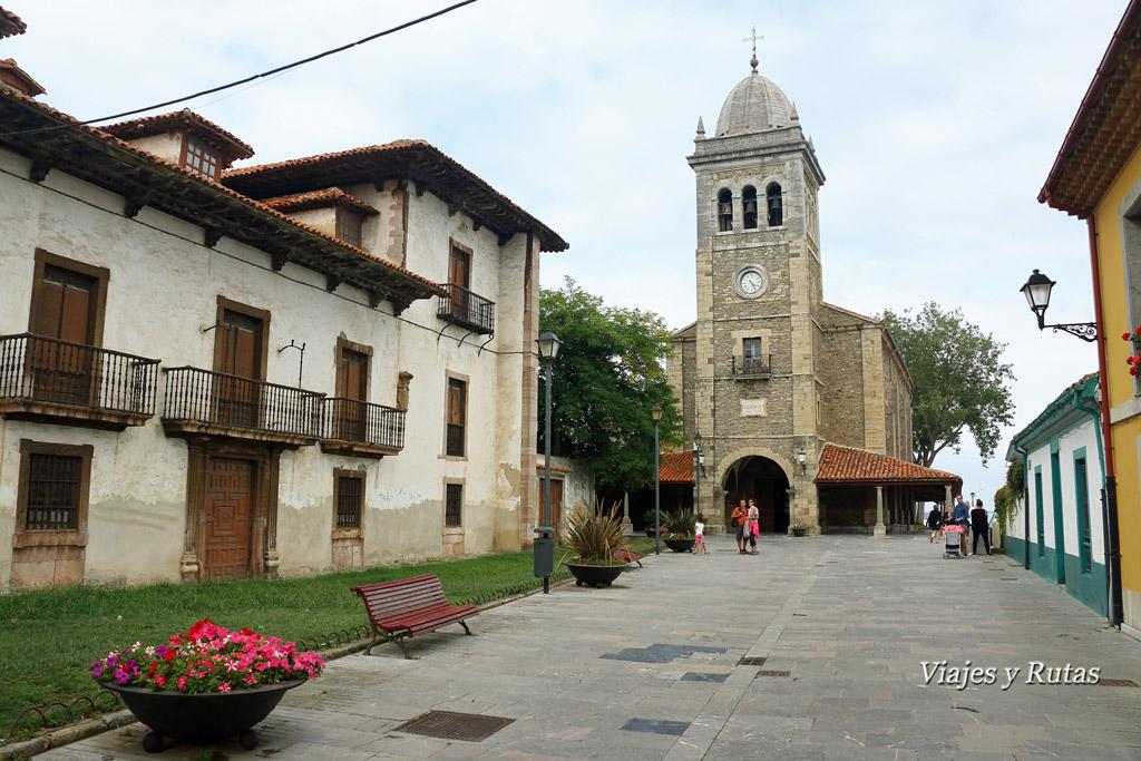 Iglesia de Santa María de Luanco, Asturias