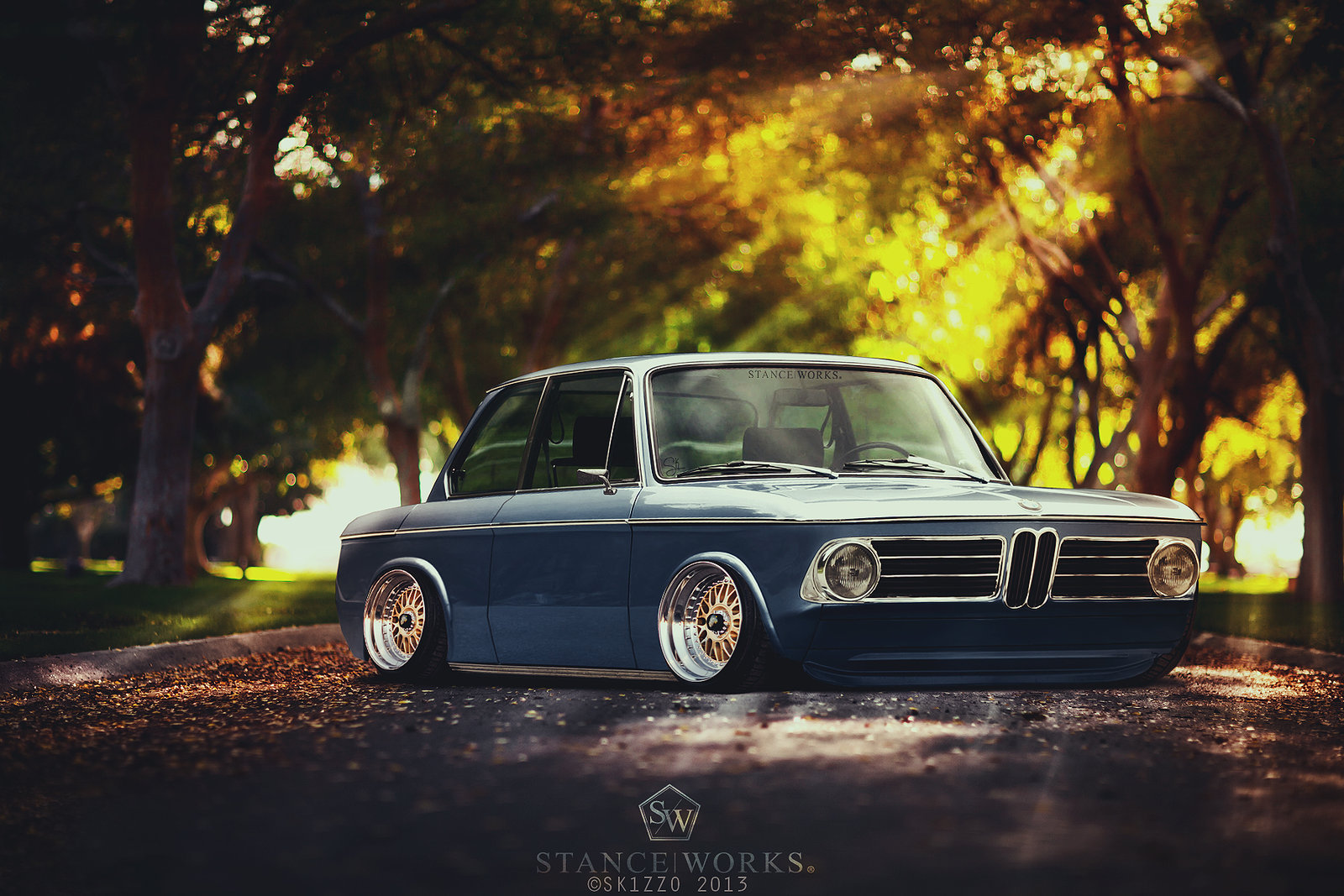 Stanced BMW 2002 turbo by sk1zzo ~ We are Petrolheads!