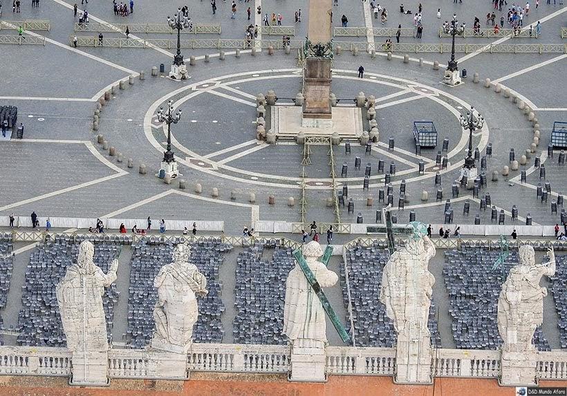 Praça São Pedro - Diário de Bordo: 3 dias em Roma