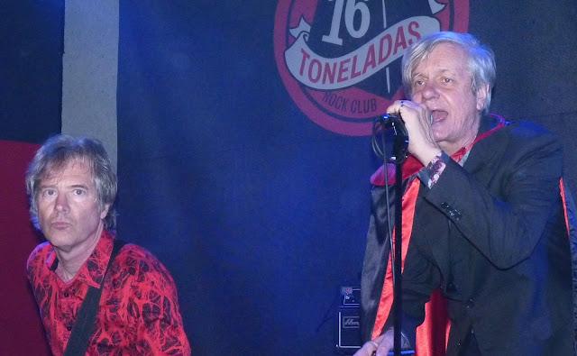Crónica concierto Fleshtones Sala 16 Toneladas, 17-2-2018 - 2