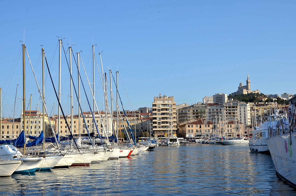 Top beaches in Old port of marseille france