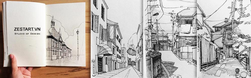 khóa học vẽ căn bản tại tphcm, zest art studio, học vẽ ở đâu