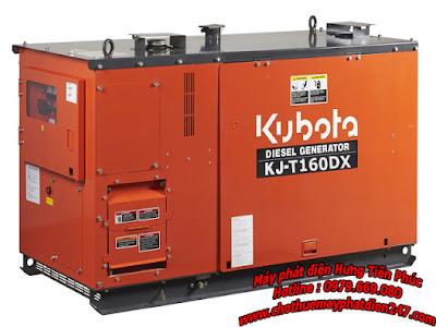 Máy phát điện Kubota 15.6kva KJ-T160DX