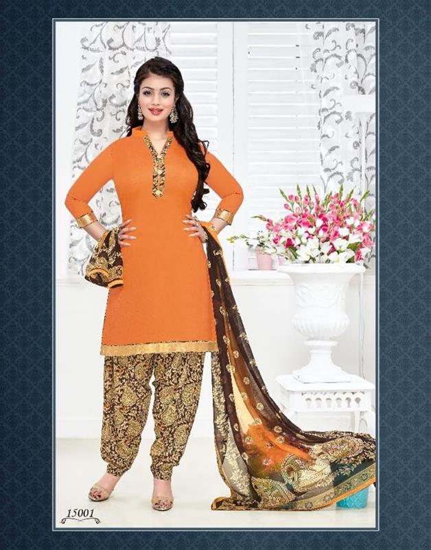 Sunday Patiyala Vol 15 – Stylish And Awesome Designer Embroidery Work Dress