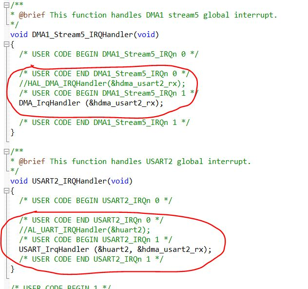 UART using DMA and IDLE Line Detection - CONTROLLERSTECH