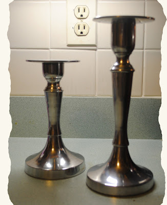 One Day at a Time: Oil Rubbed Bronze Candle Holders