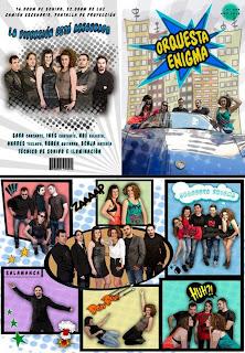 Book grupo música + diseño díptico