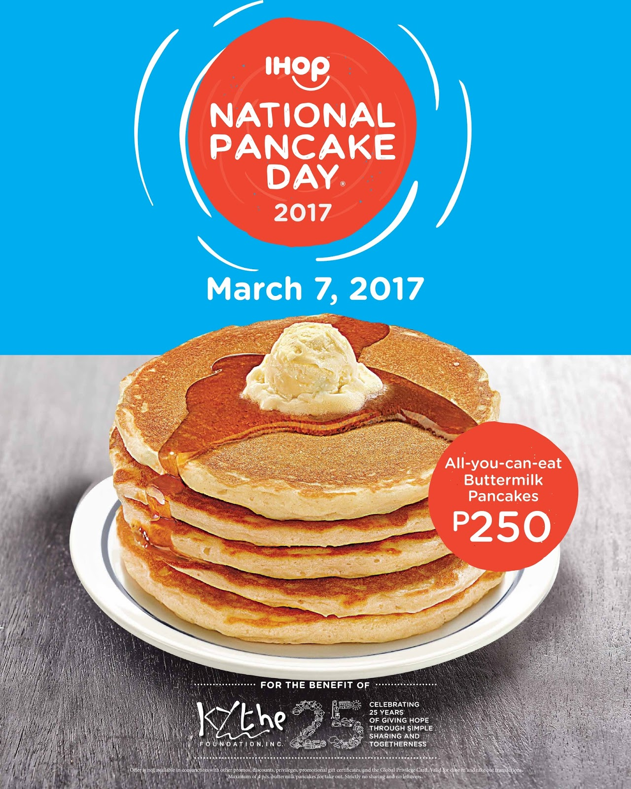 Sand Under My Feet Spread Happiness with IHOP on National Pancake Day