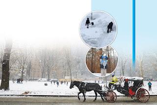 Warga AS Siap Hadapi Dua Badai Salju Pekan Ini