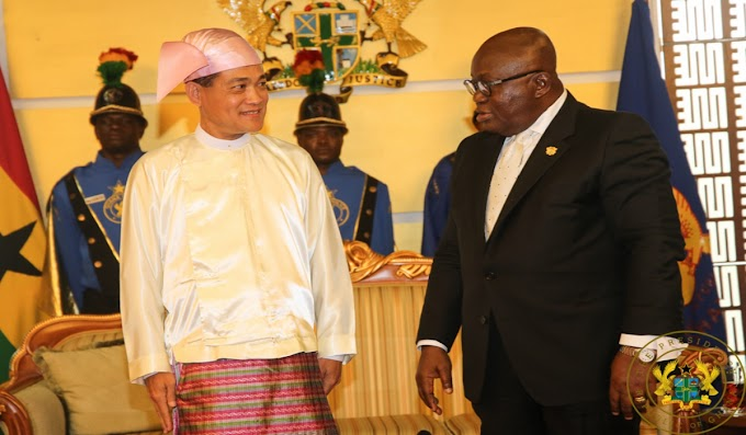 Five Envoys Present Credentials To President Akufo-Addo
