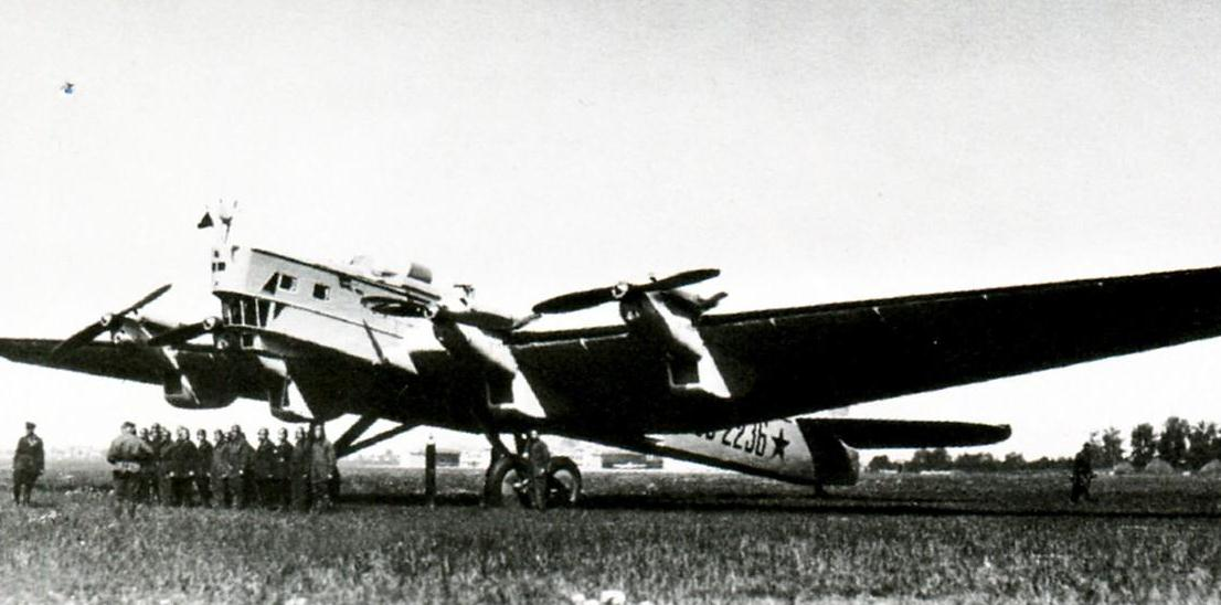 ТБ-3 Самолет-бомбардировщик (АНТ-6), Описание и Технические ... | 548x1106