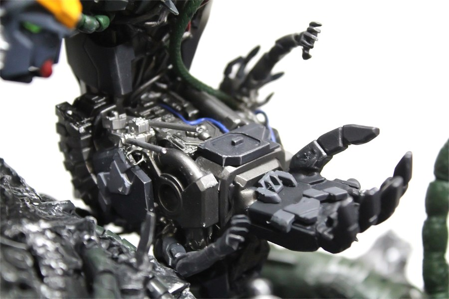 Gundam guy devil gundam the colony custom build for Domon gundam build fighters