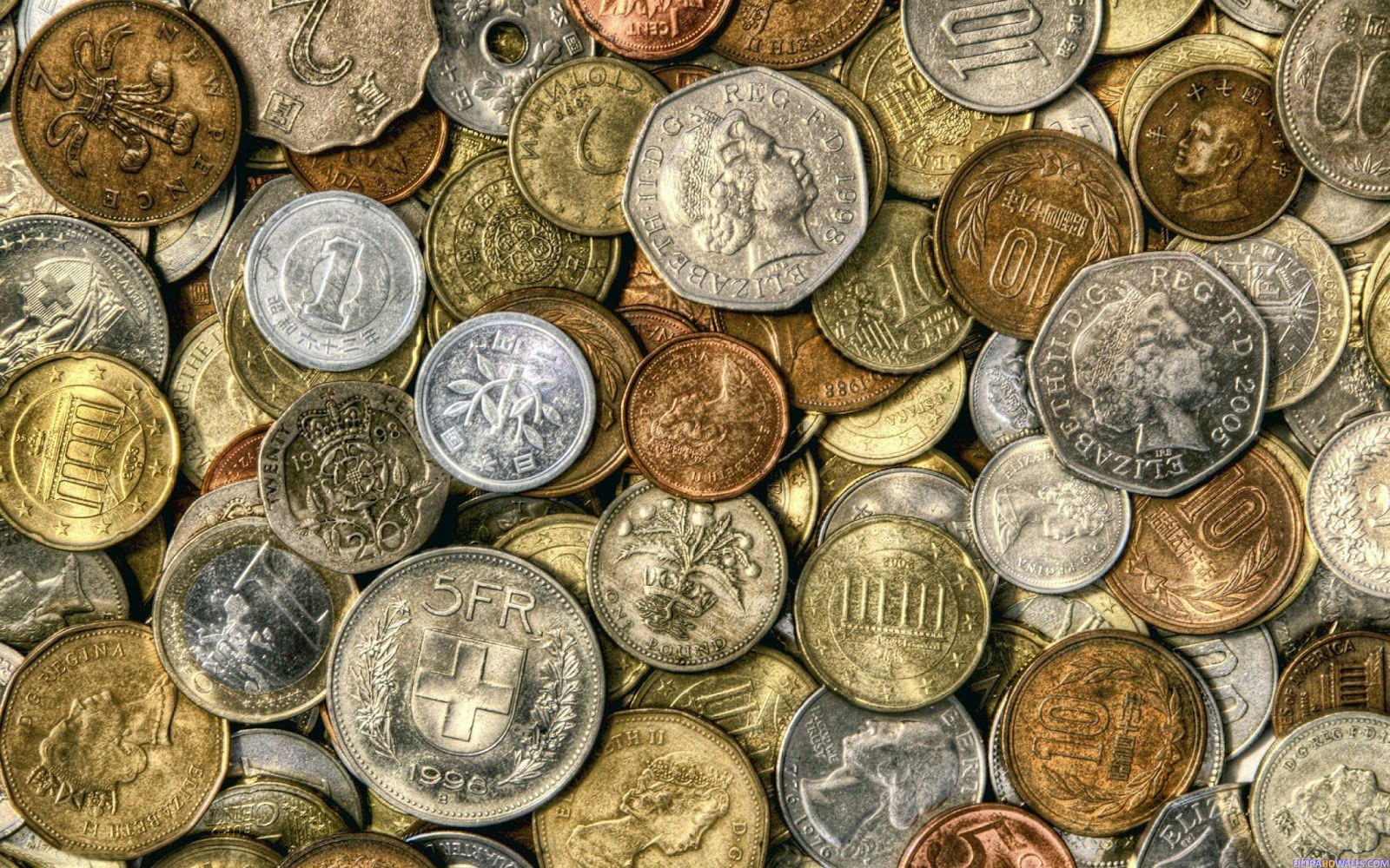 Free high quality awesome coins wallpapers template blog galeri foto - Money hd wallpapers 1080p ...