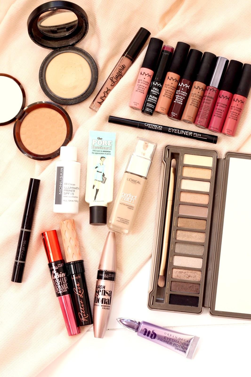 Makeup Favourites 2016