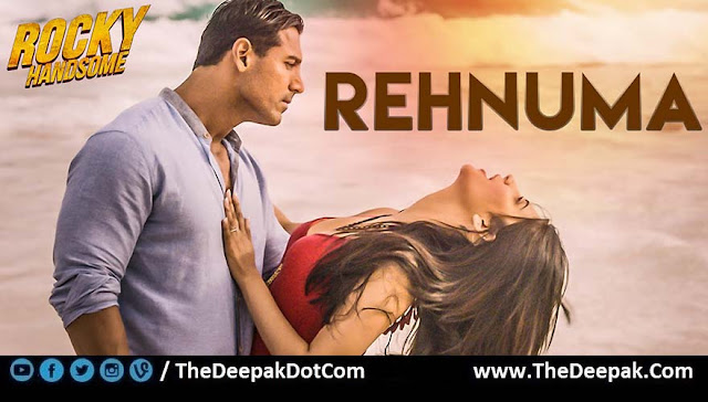 REHNUMA Guitar Hindi song by Shreya Ghoshal from movie ROCKY HANDSOME - John Abraham, Shruti Haasan