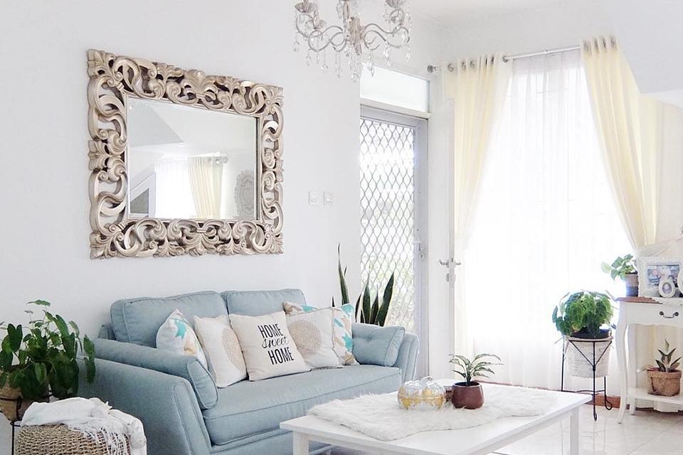 Dekorasi Cermin Hias Dinding Untuk Mempercantik Ruang Tamu