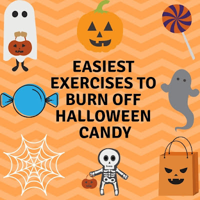 Exercises to burn off Halloween Candy