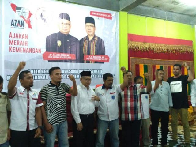 Tim AZAN Aceh Barat Dikukuhkan