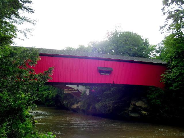 Narrows Covered Bridge - Turkey Run State Park