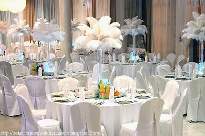 Dekoracja weselna w Hotelu Kristoff Łaszków