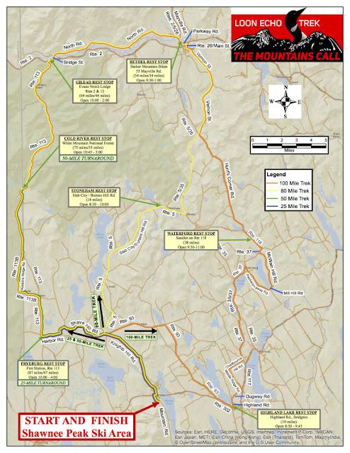Loon Echo map