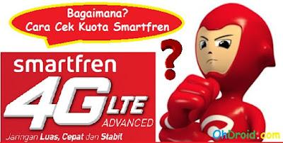 Cara Cek Kuota Internet Smartfren 4G, 3G [Lengkap]