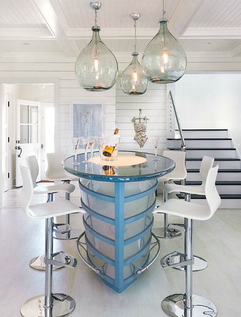 Ship Shaped Kitchen Island