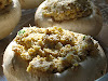 Stuffed Mushrooms with Goat Cheese and Cornmeal