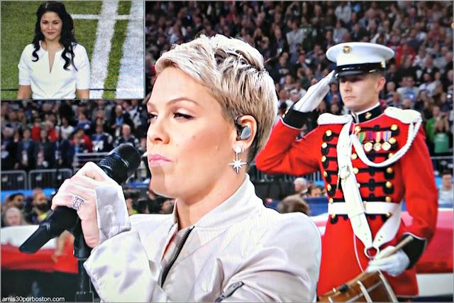 Super Bowl LII: Himno de Estados Unidos por Pink