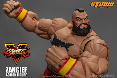 Zangief tratto da Street Fighter V della Storm Collectibles