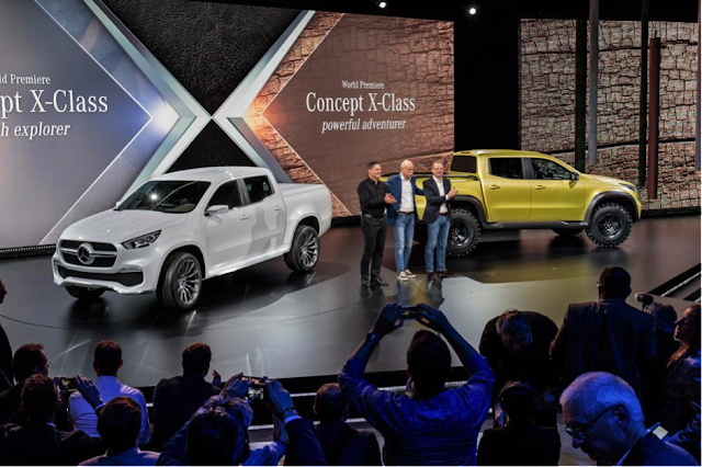 Mercedes launch X-Class Pickup Truck