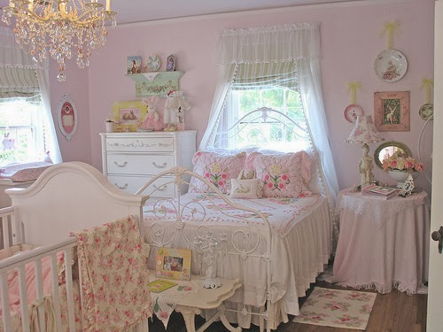 With Pink And White Stripes Gray Fabric Headboard This Was Pretty Sweet Feeling Just As You Can Afford Pastel Bedroom