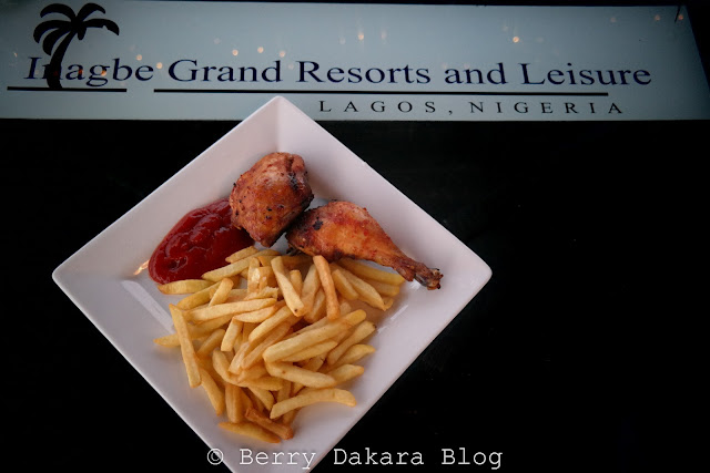 berry dakara, cakesiena, inagbe grand resort, inagbe, chicken and chips