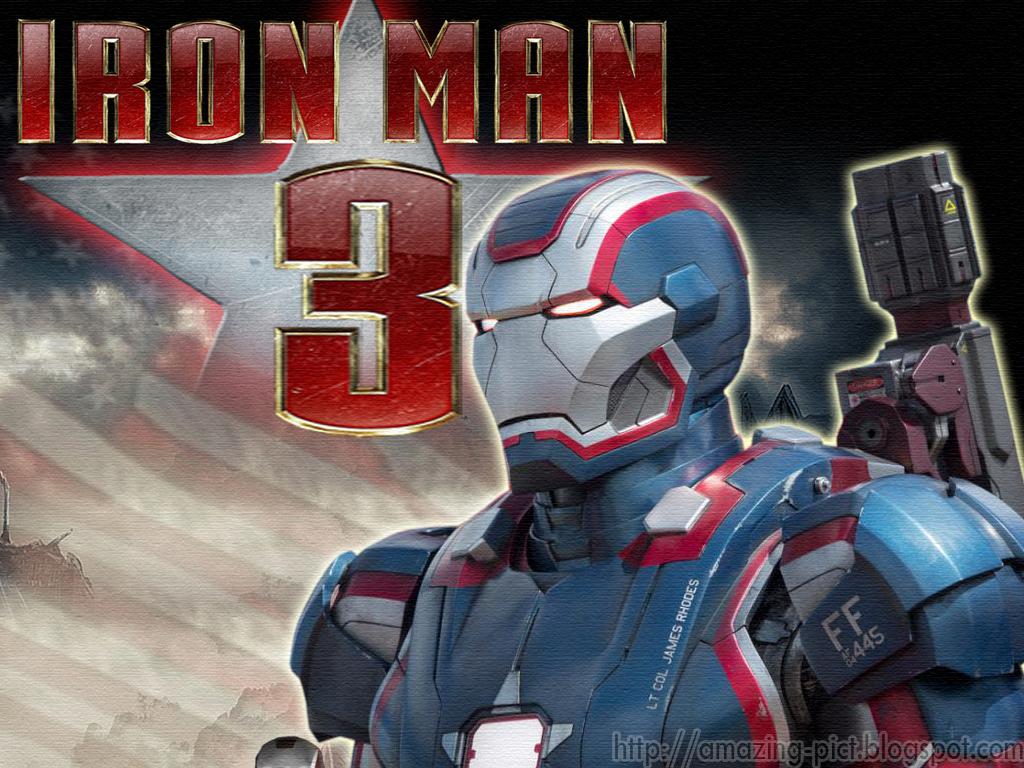 Iron Man 3 Movie Patriot Wallpapers