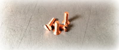 Custom/specialty 4-40 X 3/8 copper 110 slotted flat head machine screws - engineered source is a supplier and distributor of custom/specialty copper 110 slotted flat machine screws - covering Santa Ana, Orange County, Los Angeles, Inland Empire, San Diego, California, United States, and Mexico