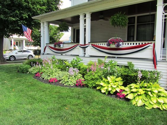 47 cheap landscaping ideas for front yard a blog on garden for Flower garden ideas on a budget