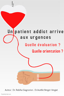 Un patient addict arrive aux urgences