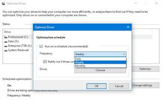 Cara Defrag secara Otomatis di Windows 10