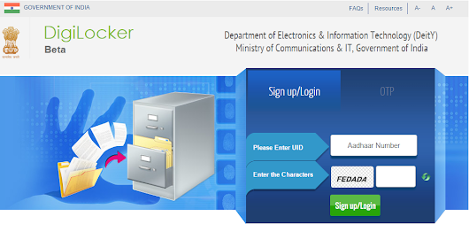 #DigiLocker A High Secured Free Online Storage For Documents By Government Of India IT&C. « Cyber Security