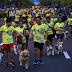 Σκύλοι και άνθρωποι έτρεξαν μαζί για καλό σκοπό...