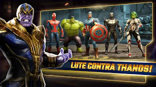 MARVEL Strike Force Apk Mod Energia Infinita