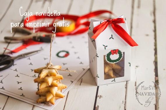 Mar vi blog regalos de navidad caja para galletas para for In regalo gratis