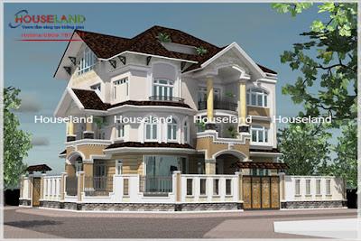 Những mẫu thiết kế biệt thự phố