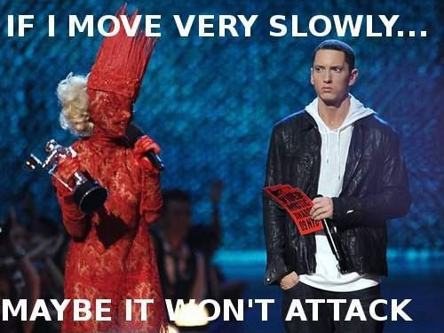 move very slowly