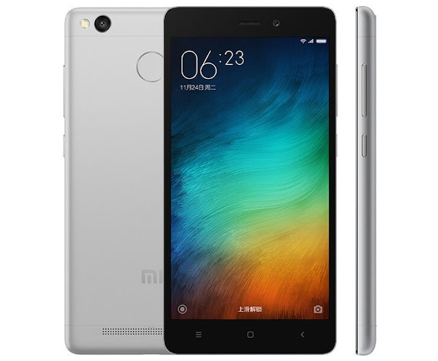 The 2016 Xiaomi Redmi 3s release in India